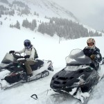 Cottonwood Pass Snowmobile